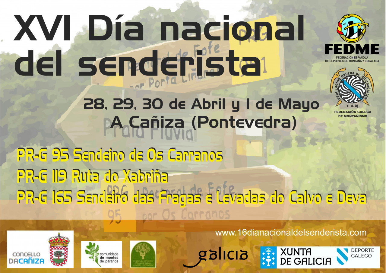 16 DIA NACIONAL DEL SENDERISTA 2017